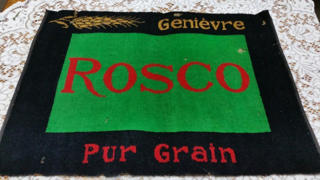 "Tapis de bar "" rosco """