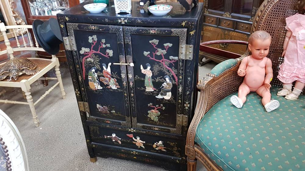petit cabinet chinois 2 portes